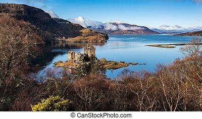 Loch Alsh and Eilean Donan Castle