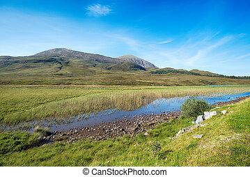 Loch Cill Chriosd in Scotland
