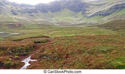 Loch Cuithir and Sgurr a Mhadaidh Ruadh - Hill of the Red...