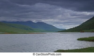 loch etive, glen etive, schottland, -, eingestuft, version