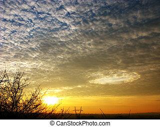 loch, himmelsgewölbe