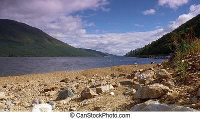 loch, lochy, brief, finlay, schottland, -, eingestuft, version