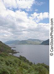 Loch Morar looking east vert