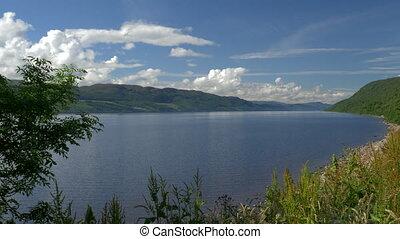 Loch Ness, Scotland - Native Version - Native Material,...