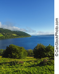 Loch Ness, Scotland - UK, Scotland, Highlands,...