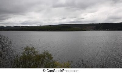 Loch Ness Scotland UK cloudy day - Loch Ness Scotland UK on...