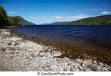 Loch Ness - View at like Loch Ness, Highland, Scotland