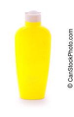 loción, botella