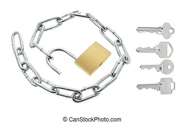 Lock, Chain and Keys