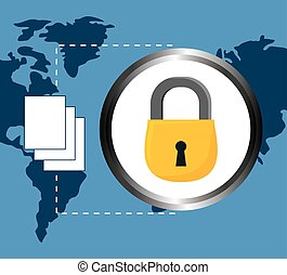lock documents data center related