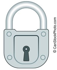 Lock - Illustration of the lock icon