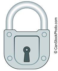 Illustration of the lock icon