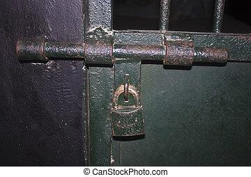 Lock in a prison