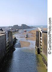 Lock in Cornwall