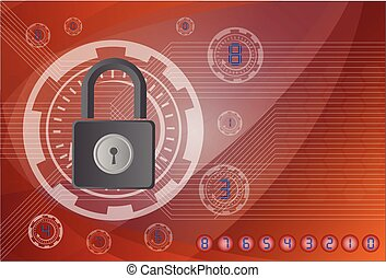 Lock on the background technologies.