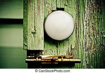 lock on the door
