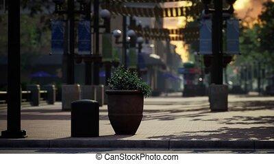 lockdown coronavirus Covid-19 empty streets