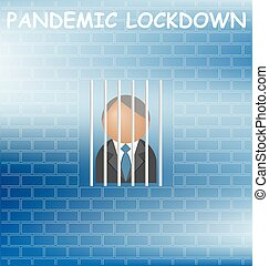 lockdown, pandemia, representación