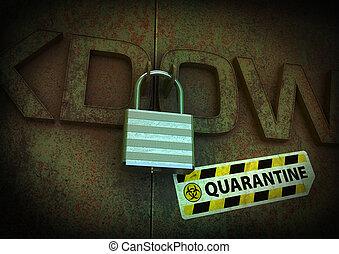 lockdown, quarantena