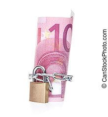 Locked cash money