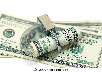 Locked cash money.