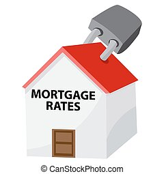 Locked Mortgage Rates Icon
