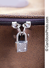 Locked zipper.