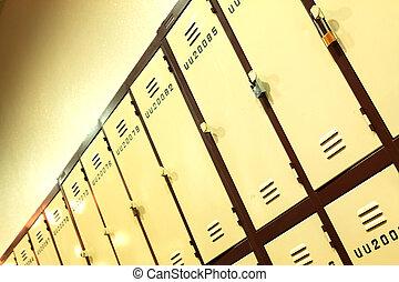 locker at school