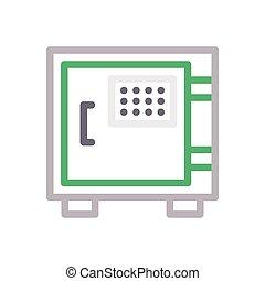 locker  color line icon