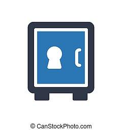locker glyph color icon