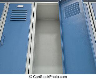 Locker Open