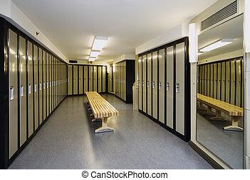 Locker Room - New locker room in an office building