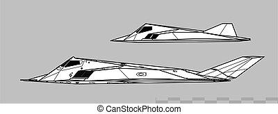 Lockheed F-117 NIGHTHAWK & the Have Blue technology ...