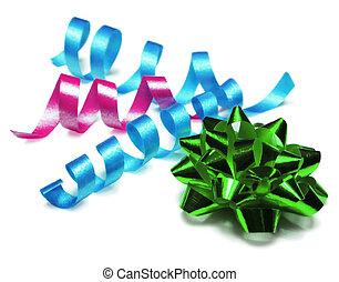 lockig, geschenkband