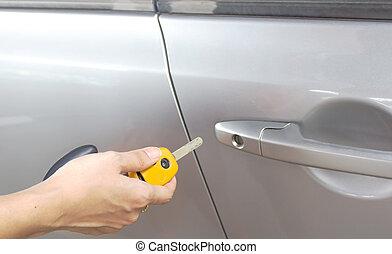 lock/unlock car door