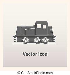 locomotiva, ícone