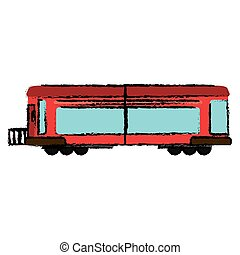 locomotiva, trem, transporte, negócio