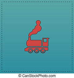 locomotive computer symbol