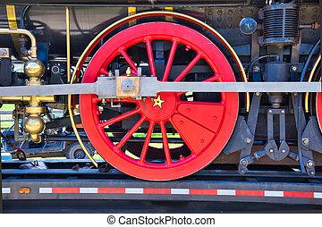 locomotive drive gear