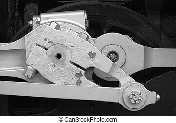 Locomotive drive mechanis