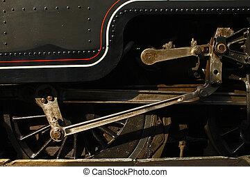 Locomotive drive shaft