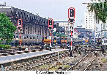 locomotive, signal