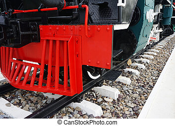 Locomotive steam train
