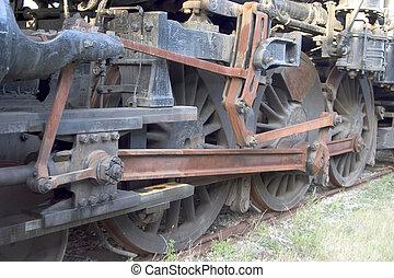 locomotive Wheels 2