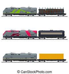 Freight Transportation, Vector
