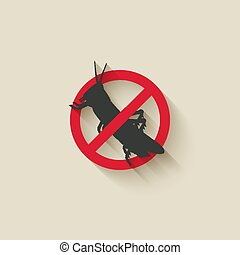 locust insect pest icon. vector illustration - eps 10