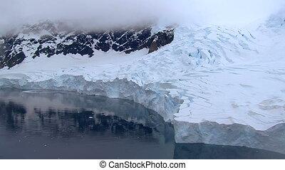 lodowiec, antarctica
