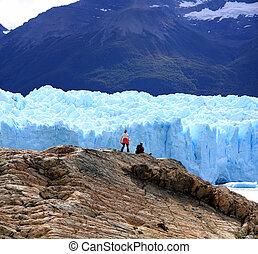 lodowiec, argentyna, perito, moreno