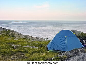 Lofoten camping site