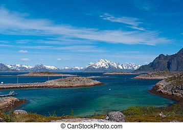 Lofoten islands, Norway - Island Skrova, Lofoten islands,...